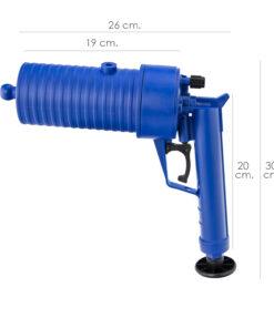 desatascador pistola