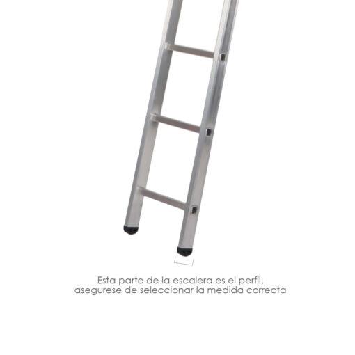 contera escalera aluminio